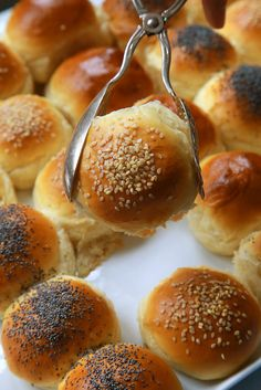 These soft dinner rolls from Nigella Lawson are easy to make. Use the topping to make them as fancy as you'd like. (Photo: Jim Wilson/The New York Times)