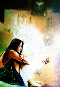 Original painting by the Indian artist Sudipta Kundu - Paris Art Web