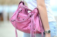 LOVE Balenciaga!  LOVE Pink :)