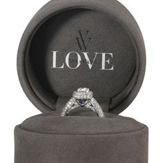 Found out why the blue sapphire....Something Borrowed, Something New, Something BLUE.....Love it!