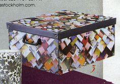 Sunday Times May edition, Fabric box by Ella Doran