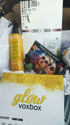 I recieved a glow voxbox for free. From influenster.