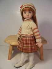 """""""Autumn Knit"""" Made for 13"""" Effner ~ by TDDesigns. Sold 9/15/13 for $42.95."""