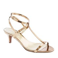 Greta metallic sandals - evening - Women's shoes - J.Crew