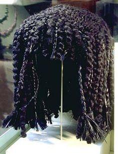 La mujer en el antiguo Egipto usaban esto,Pelo como la lana