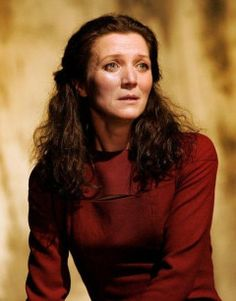 (FC: Michelle Fairley) Carlotta as Lady Macbeth in her 9th play at University, March 2021 aged 22.