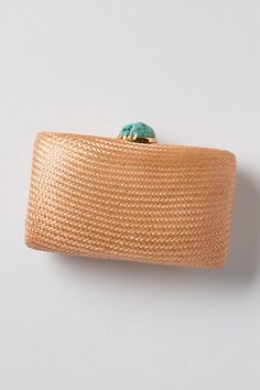 Straw and Stone Bag ...anthropologie