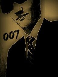 Lol it fit  - me - james bond - 007 - poster - design