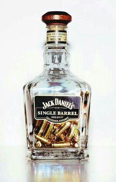 Bullet in a bottle.