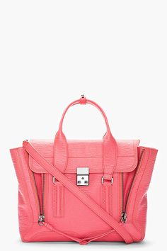 84282582a9 Pink Phillip Lim from @SSENSE Cuir Rose, Porte Monnaie, Garde Robe, Couture