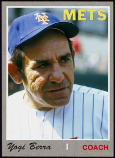 WHEN TOPPS HAD (BASE)BALLS!: COACH FANTASY CARD- 1970 YOGI BERRA