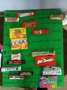 ... Ideas on Pinterest | Candy bar posters, Candy posters and Candy grams