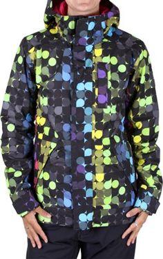 Burton Tonic Jacket Rainbow Print <3