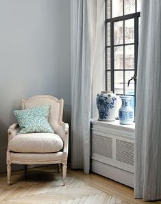 Chair and Radiator cover
