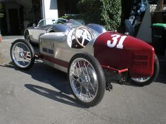 1931 CycleKart Italian Red silver Brian S