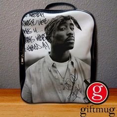 2Pac Tupac American Musician Backpack for Student