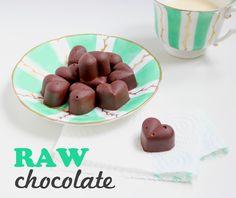 White Rabbit Treasures: DIY Easy Raw Chocolate - Raakasuklaata