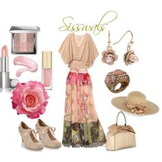 vintage, created by sisswals on Polyvore