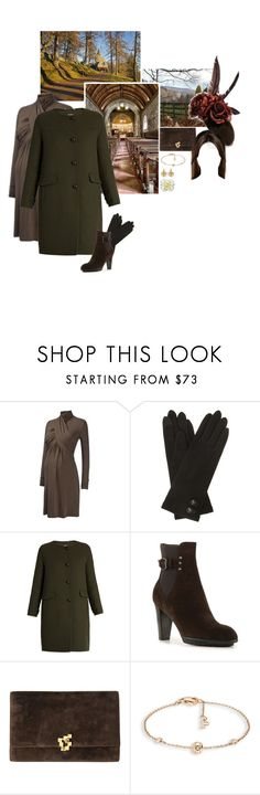 """Untitled #2169"" by duchessq ❤ liked on Polyvore featuring Lauren Ralph Lauren, 'S MaxMara, Aquatalia by Marvin K. and Piaget"