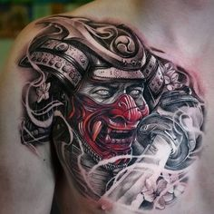 Marquesan tattoos – Tattoos And Japanese Mask Tattoo, Japanese Sleeve Tattoos, Japanese Tattoo Designs, Chest Tattoo Japanese, Hannya Mask Tattoo, Hanya Tattoo, Irezumi Tattoos, Marquesan Tattoos, Asian Tattoos