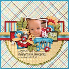 love the flower clusters  #scrapbooking