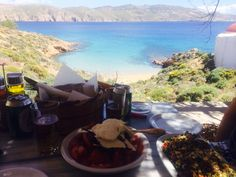 Kiki's Tavern - Agios Sostis. The most beautiful Tavern in Mykonos!!!