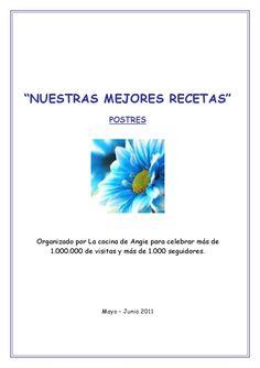 NUESTRAS MEJORES RECETAS-3 POSTRES BLOGS