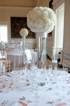 When tasteful chic colors, refined textiles, and luxe details all get together they make layer upon layer of romantic wedding style. Brought to us by the lovely and talented Planet Flowers from Edinburgh, England, these wedding receptions are enchanting inspiration for a totally couture celebration. With distinctive decorative style and intricate understanding of flowers, every ounce of their work is truly […]