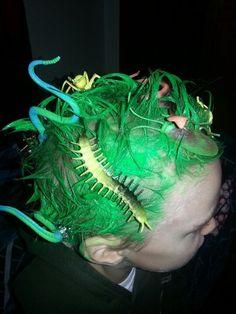 Turn Hair into Bug Jungle | Community Post: Crazy Hair Day Ideas