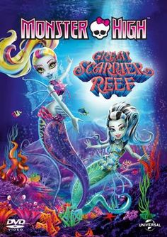 """Great Scarrier Reef """"Great Scarrier Reef"""" is the thirteenth TV special produced for the Monster High cartoon series. It will release Spring 2016. The TV special ties into the Great Scarrier Reef line."""