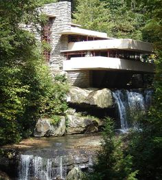 Pittsburg, PA - Frank Lloyd Wright Falling Water House