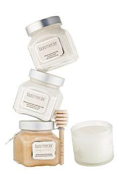 Laura Mercier 'Almond Coconut Milk' Bath & Body Luxe Set ($93 Value) available at #Nordstrom $80