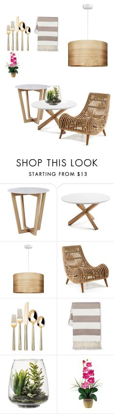 """""""Untitled #69"""" by angela-bochvarska ❤ liked on Polyvore featuring interior, interiors, interior design, home, home decor, interior decorating, Threshold and Nearly Natural"""