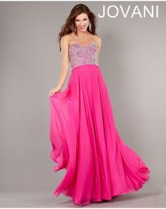 Jovani Fuchsia Strapless Embellished Sweetheart Floor Length Prom Dress Sz 8 NWT #Jovani #PromWeddingFormalPartyPageantGalaEvening