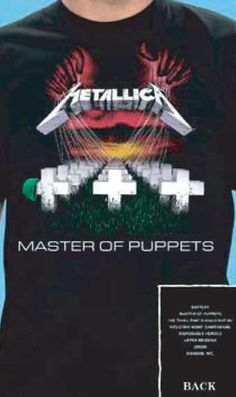 Maiou Metallica: Master of Puppets - MetalHead Merch
