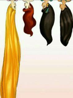 Disney hair