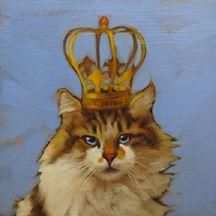 Queen of cats par Diane Hoeptner
