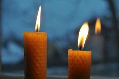 Husmorsskolan: Gör egna ljus!  -- make your own honeycomb candles