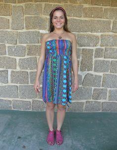 Vestido Saia Onda 6- #mundoshakti #quemédomar #estilo #moda #boho #bohochic #verão2016