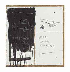 Jean-michel basquiat (1960-1988) COLLECTION JOHNNY DEPP / SALE JUNE 2016