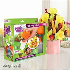Bộ khuôn cắt trái cây Pop Chef siêu nhanh - Đồ dùng gia đình - TP Hồ Chí Minh - Global Market