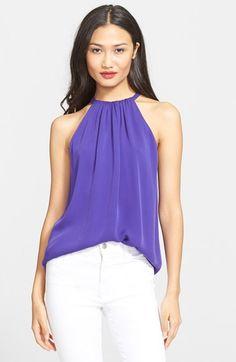 DIANE VON FURSTENBERG 'Pania' Silk Top. #dianevonfurstenberg #cloth #