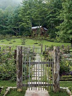 Wild Beauty   Garden Gate (photo only)  http://harusemi.tumblr.com/