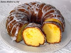 Sama słodycz u Asi : Babka serowa z pomarańczą Sweet Recipes, Cake Recipes, Bunt Cakes, Different Cakes, Polish Recipes, Christmas Appetizers, Pumpkin Cheesecake, Yummy Cakes, Love Food