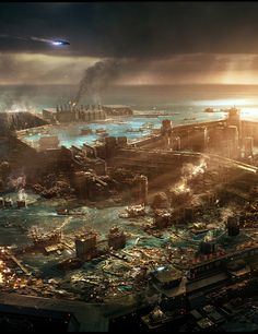 Cloud Atlas concept art and design by George Hull.