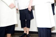 Duckie Brown Spring / Summer 2014 BACKSTAGE | Photography by Mara Corsino