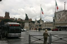 """The Victor Emmanuel Monument is not known as one of Rome's most beloved structures. Many Italian's refer to it as the """"wedding cake"""" because of its white marble that poorly contrasts with its surroundings."""