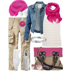 """Pretty Casual"" by alison-louis-ellis on Polyvore"