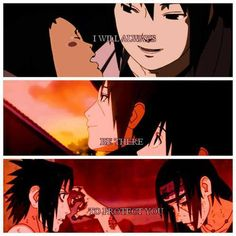 Itachi and Sasuke. So.many.feels. TAT