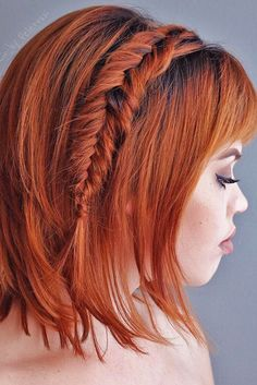30 Stylish Easy Wedding Hairstyles ❤ See more: http://www.weddingforward.com/easy-wedding-hairstyles/ #weddings #hairstyles